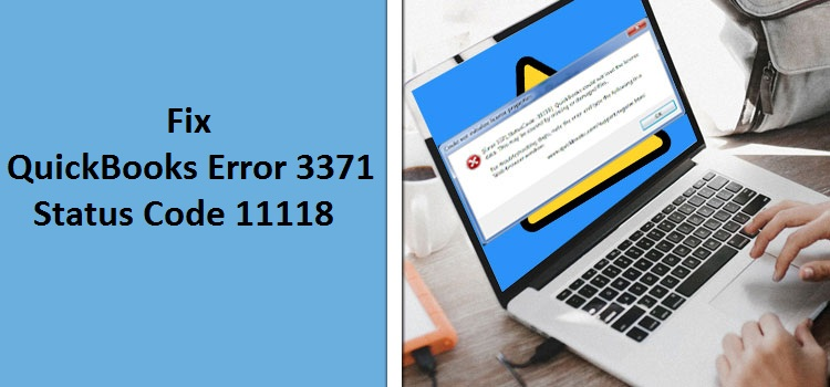 Fix QuickBooks Error 3371 Status Code 11118