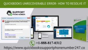 QuickBooks Unrecoverable Error- How To Resolve It