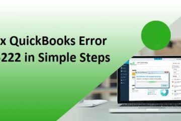 Fix QuickBooks Error 15222