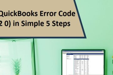 Fix QuickBooks Error Code (-12 0)