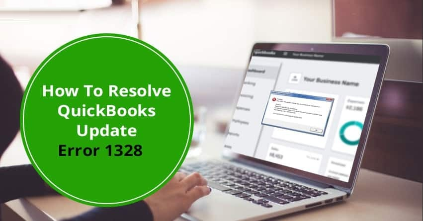 QuickBooks Update Error 1328