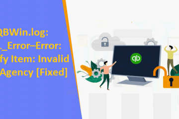 QBWin.log LVL_Error–Error