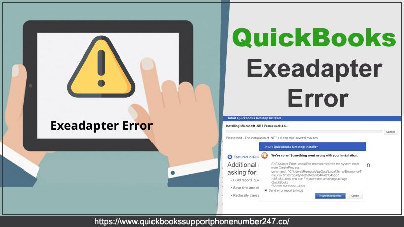QuickBooks Exeadapter Error